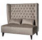Preview: Comfortable sofa with high back cushion