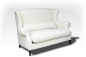 Preview: Comfortable sofa in vintage design