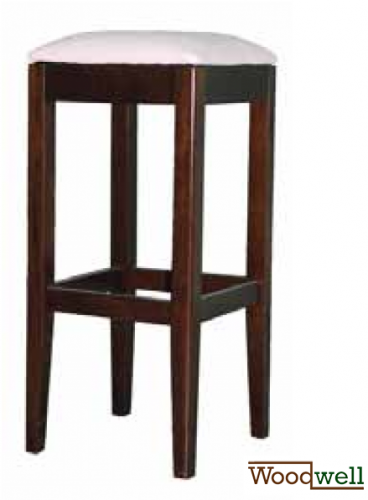 "Bar stool without backrest in the shade ""wenge"""