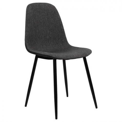 Design chair made of metal | In gray