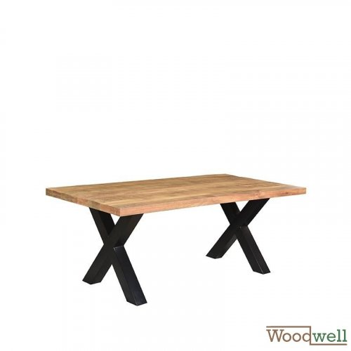 Solid mango dinning wood table ZINO 200x100x76 cm | Tree trunk furniture - Kopie - Kopie