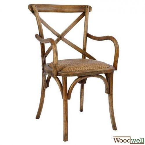 bistrostuhl esszimmerstuhl designer stuhl armlehnstuhl aus holz braun. Black Bedroom Furniture Sets. Home Design Ideas