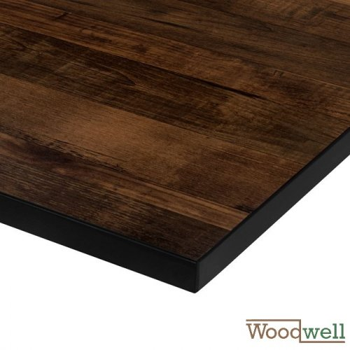 "Melamine 32 mm table tops buy cheap | Table top in ""Walnut"" 70x70 cm"