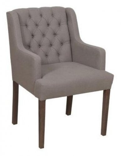 """Biliana B"" armchair chair with elegant design"