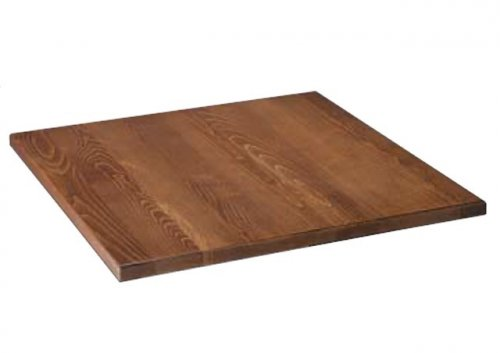 Tabletop made of solid oak wood 80 x 80 cm woodwell.de