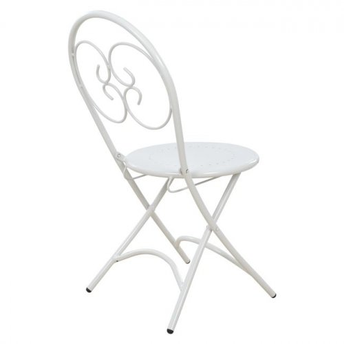 Metal chair EMU for the garden, foldable | Woodwell