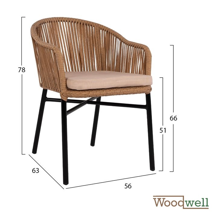 Phenomenal Outdoor Chairs Buy Cheap Garden And Terraces Armchair In Aluminum And Braided Rope In Black And Beige Inzonedesignstudio Interior Chair Design Inzonedesignstudiocom
