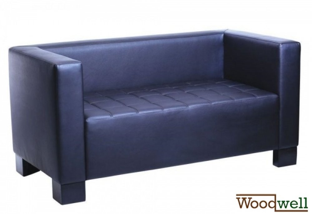 Kristal three seater sofa / couch / lounge sofa from artificial leather in various shades