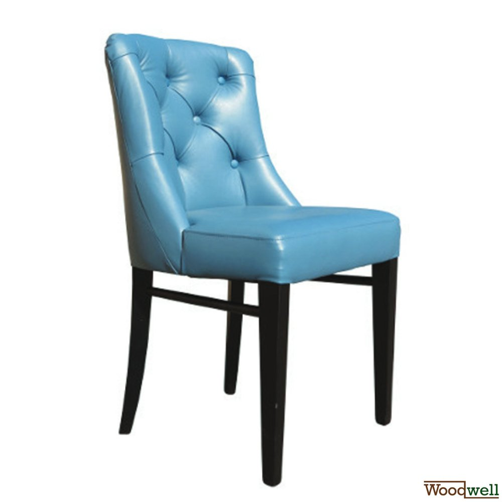 """Leona Deep Btn"" Upholstered chair"