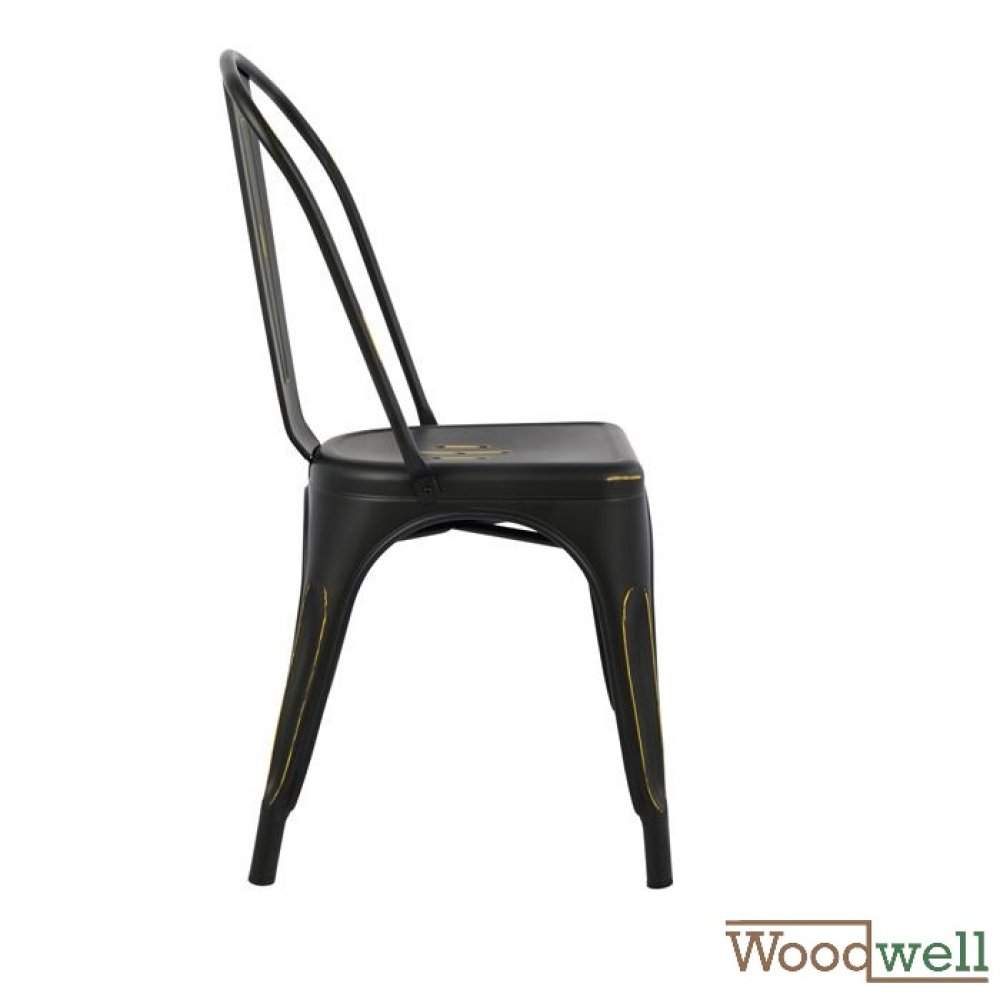 "Outdoor Chairs buy cheap | Design chair ""Melita"", in black (Patina)"