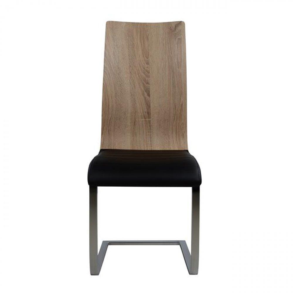 Schwingstuhl esszimmerstuhl designer stuhl schwarz for Designer esszimmerstuhl