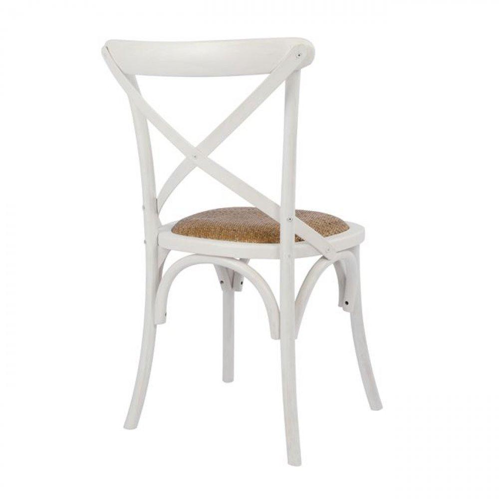 bistrostuhl esszimmerstuhl designer stuhl aus holz wei. Black Bedroom Furniture Sets. Home Design Ideas