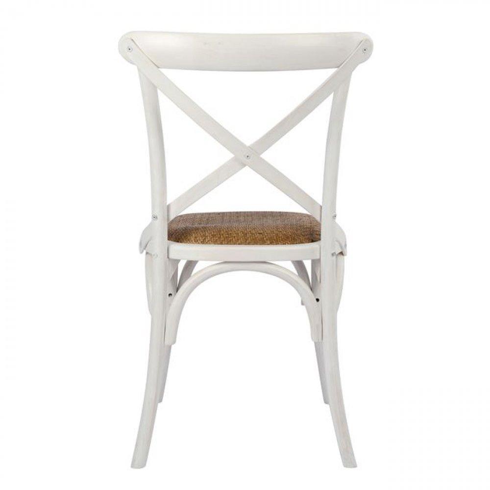 Bistrostuhl esszimmerstuhl designer stuhl aus holz wei for Designer esszimmerstuhl
