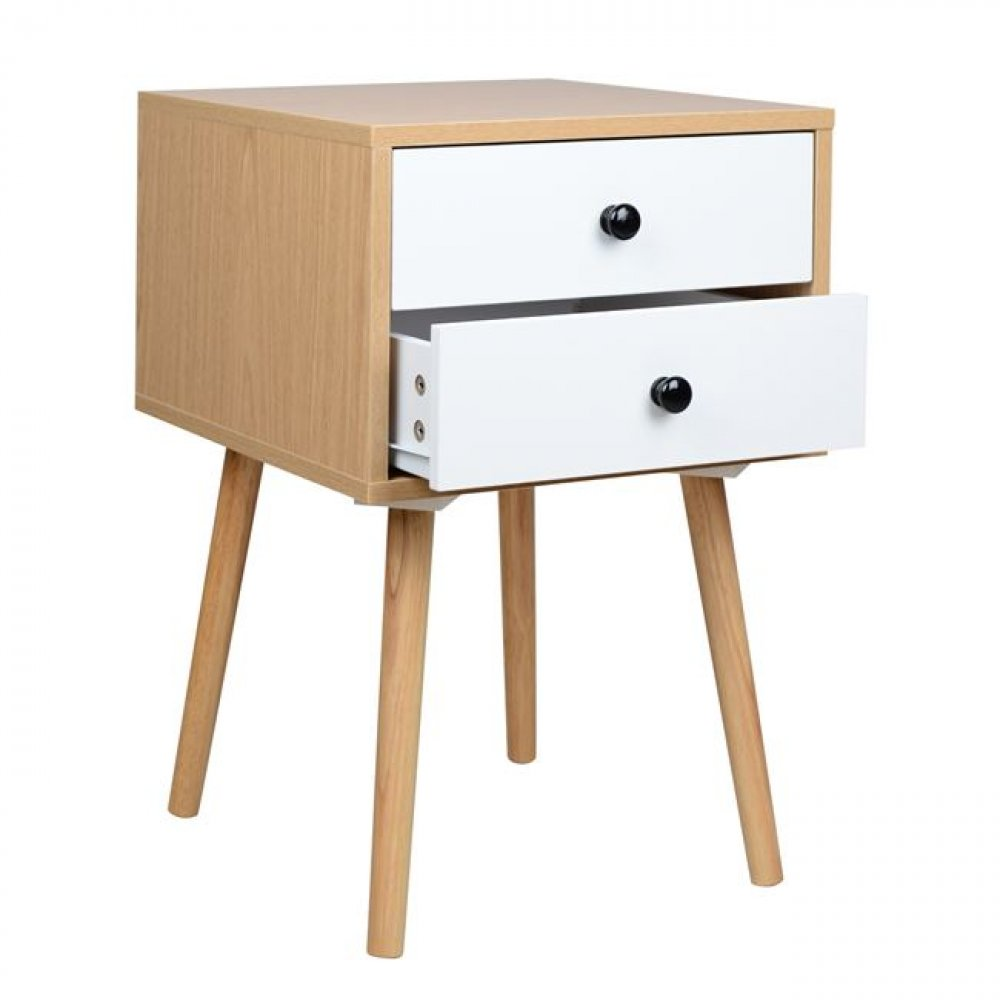 """Oliver"" nightstand in a modern design"