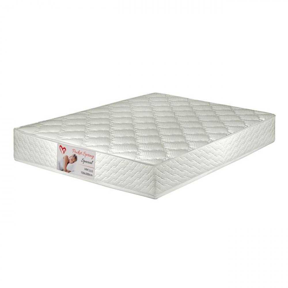 """Special pocket spring"" mattress can be used on both sides"