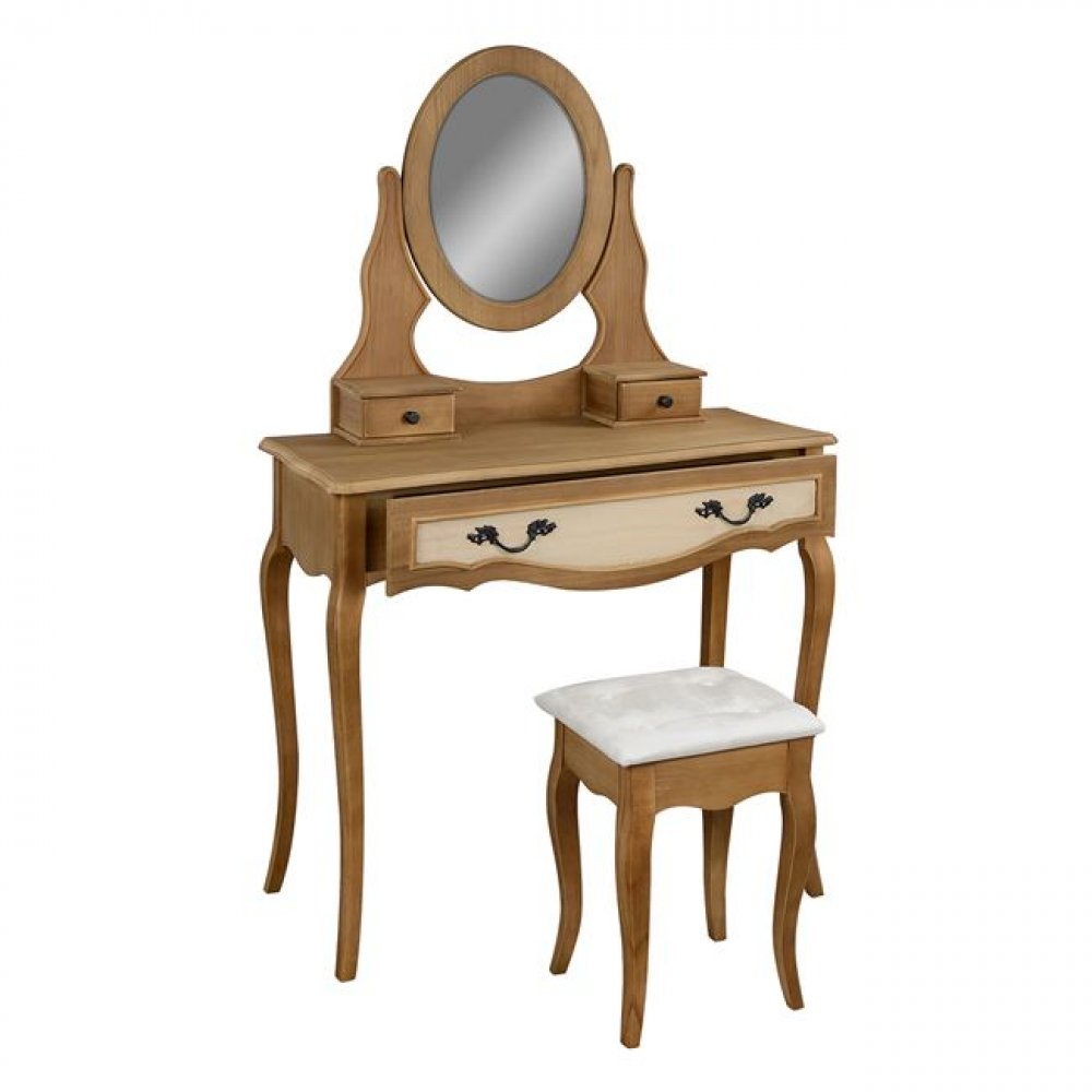 Dressing table with stool AMELI