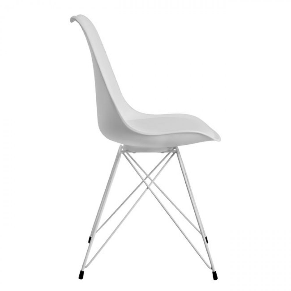 Designer Chair Dining Chair white