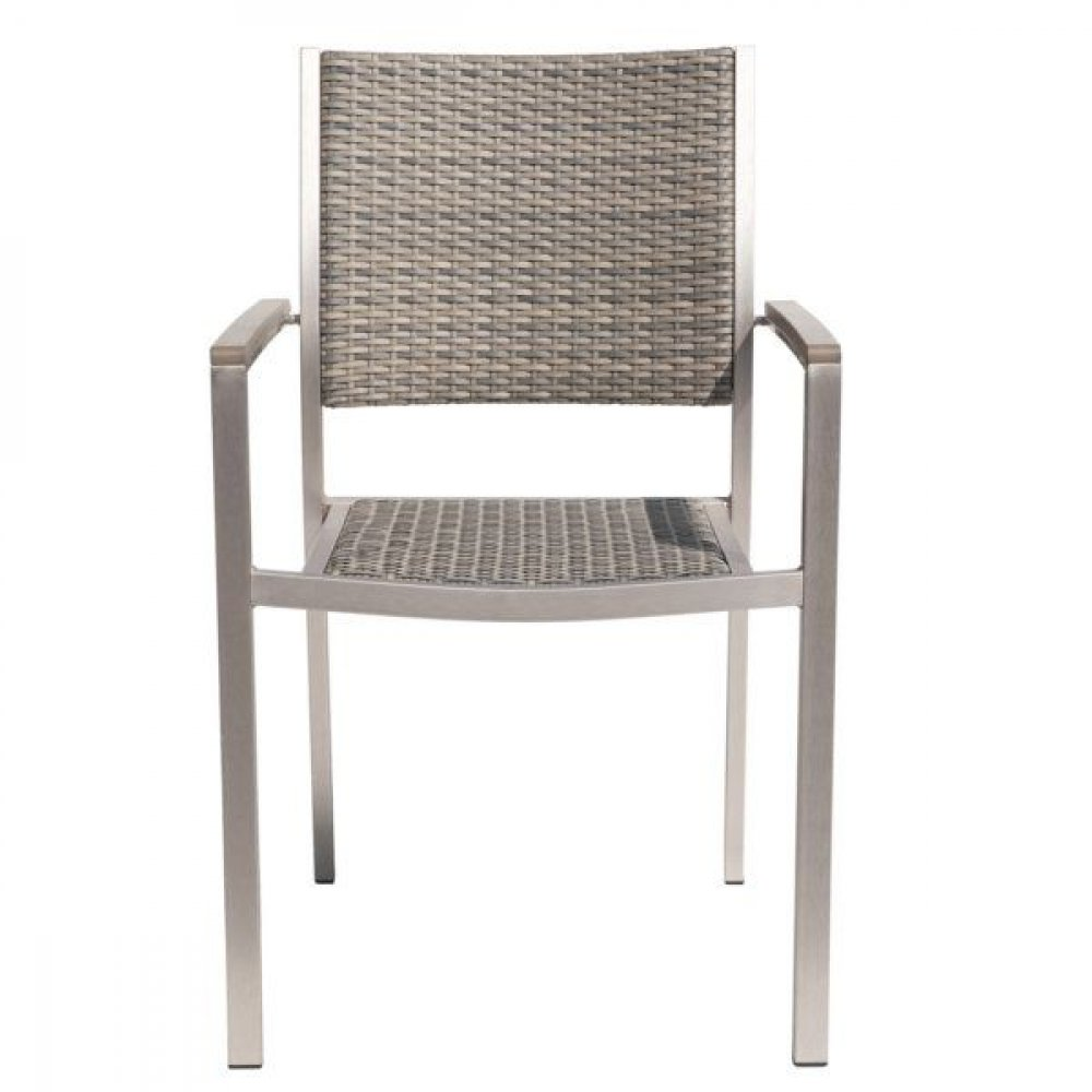 Stylisch design stapelstuhl outdoor stuhl armlehnstuhl for Designer stapelstuhl