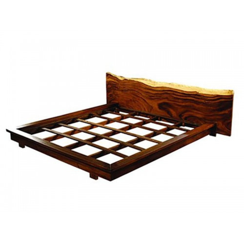 """Woodstar"" designer bed in suar wood"
