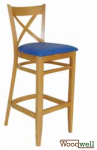 "Beech stool in the color ""natural"""