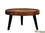 Handmade table in acacia wood