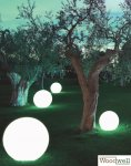 "Lounge lighting ""SPHERE"" 70 cm 