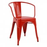 Metal chair rot color